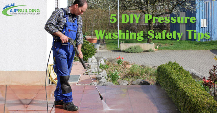Pressure Washing Safety Tips